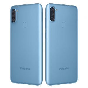galaxy A11-blue-degree