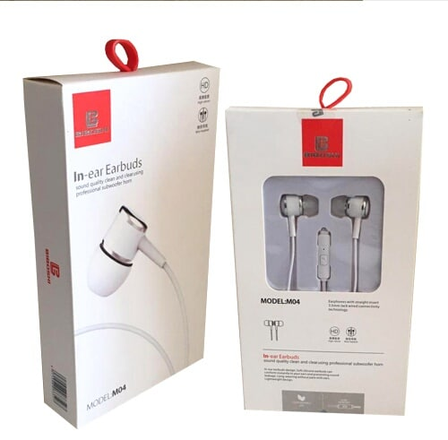 هدفون biboshi in-ear earbuds model:m04